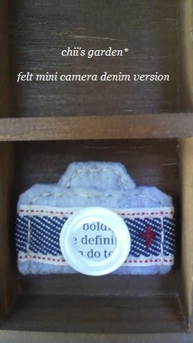 felt mini camera[denim]-3