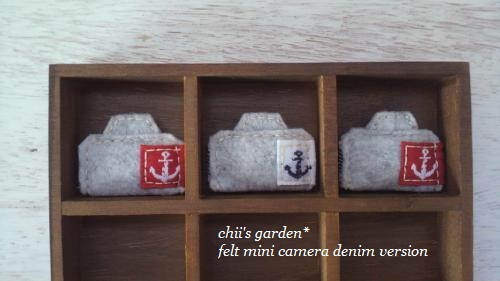 felt mini camera[denim]-2