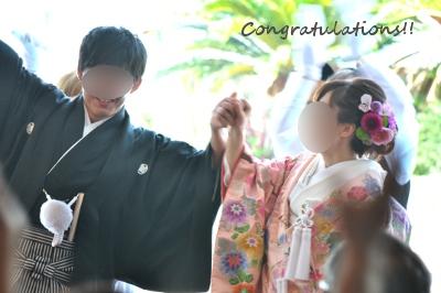 いとこ結婚式