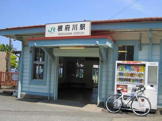 20120519久々のDEFYで根府川駅
