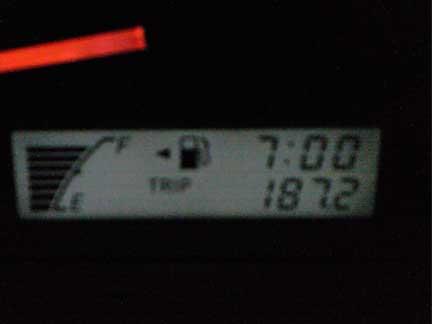 20121002記録的な燃費がでるのか?