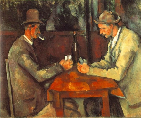 セザンヌ - カード遊びをする男たち