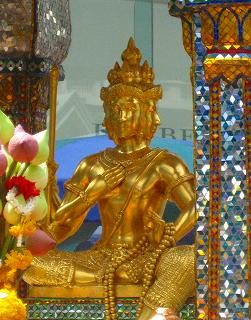 バラモン教の天地創造神ブラハマー(梵天)像