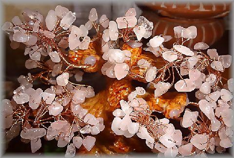 ローズクォーツの桜