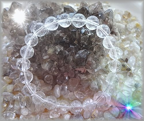 素敵なクラック水晶