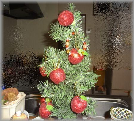 クリスマスツリーとブレス