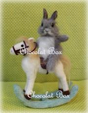 Chocolat Box2014木馬とうさぎ