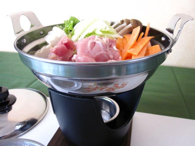 おひとり用鍋(文化鍋)