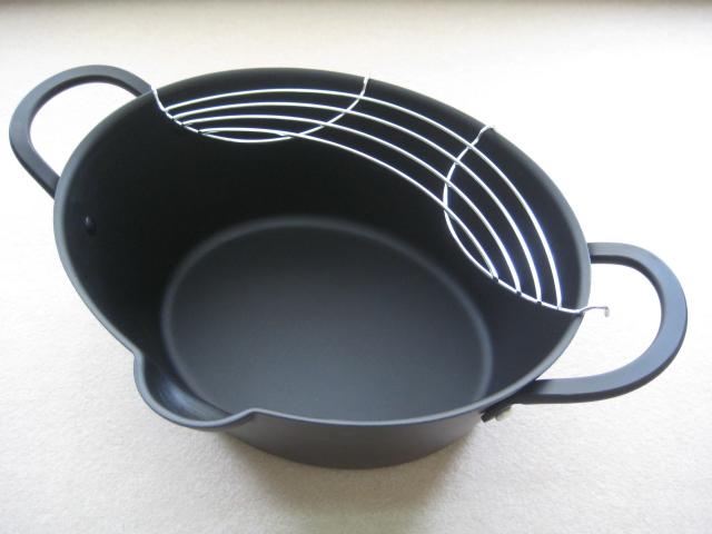 楕円揚げ鍋(鉄器)