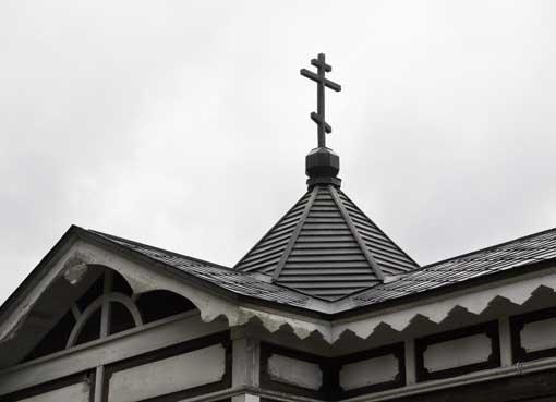 曲田福音聖堂塔