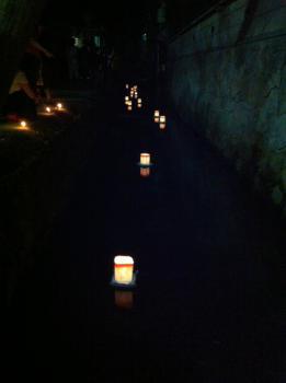 灯籠流し201208