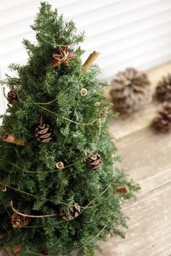 ナチュラルクリスマスツリー