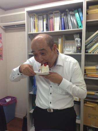 所長ケーキ