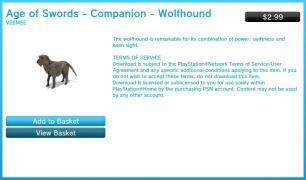 ageofswordsCompanion Wolfhound