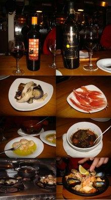 Chez Luna-スパイン料理1