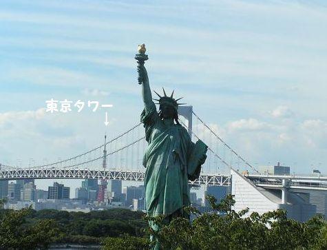 東京タワーと自由の女神
