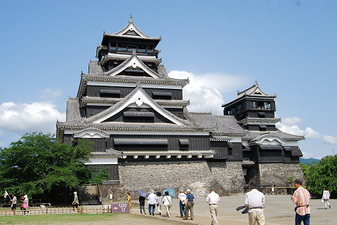 熊本城天守閣2