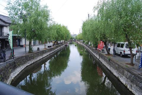 柳川の運河