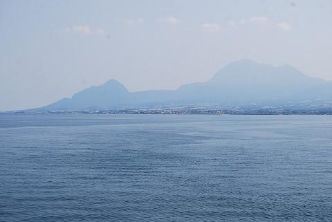 島原の山々