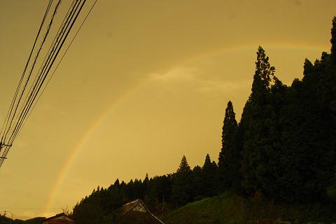 大きな虹が2