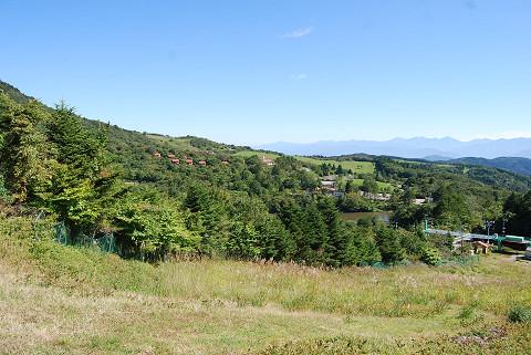 茶臼山高原の風景