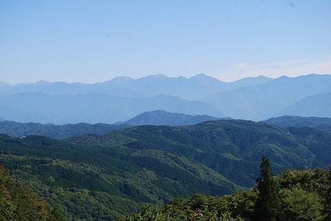 もう一度山頂からの絶景