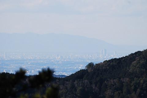 遠く名古屋の街が