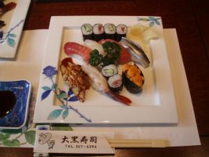 塩釜の寿司