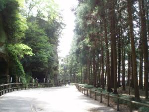 松島の参道