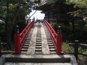 松島のすかし橋