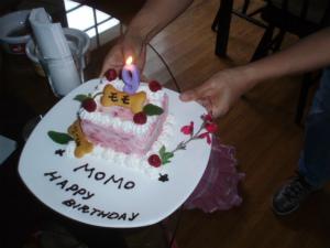 9歳のバースデーケーキ