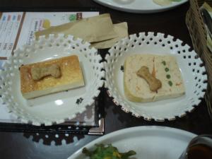 ミートローフ&チーズケーキ
