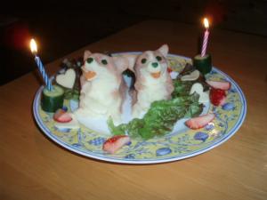 モンターニャ特製ケーキ
