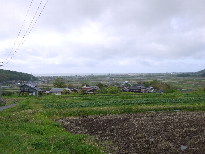 高井谷より俯瞰