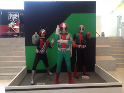 新2号&V3&ライダーマン