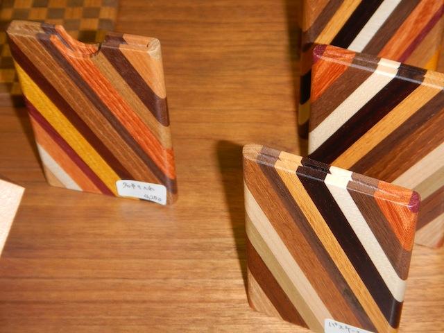 木製品 寄木名刺入れ