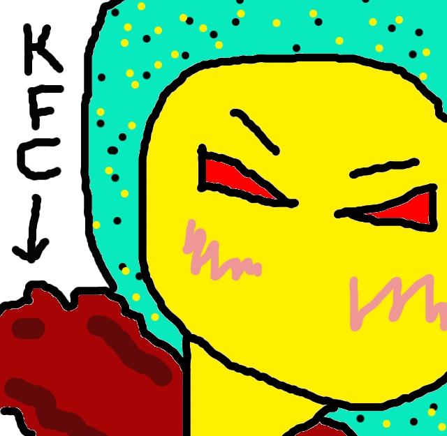 KFC食べる