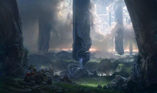 Halo 4 - Spire Vista RGB