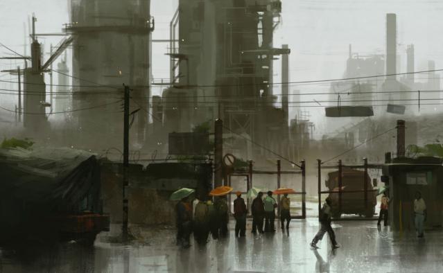 Ghost Recon Future Soldier - Refinery Entrance