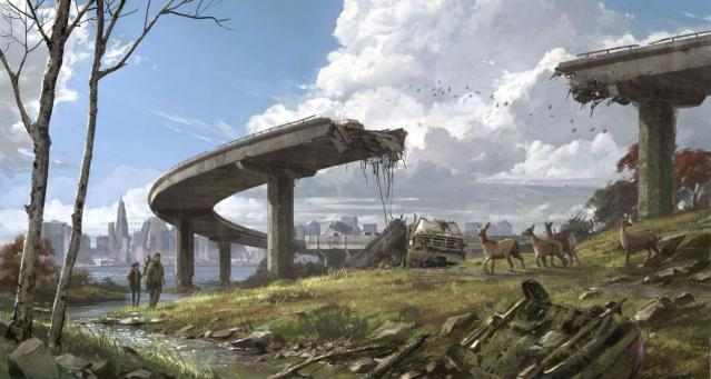 The Last of Us - Broken Bridge
