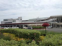 函館競馬場~。