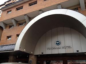 湯の川温泉の湯の浜ホテル。←ややこしいw