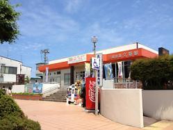 これが三陸鉄道の久慈駅。