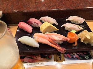 金沢の回転寿司。のどぐろをはじめ、絶品!