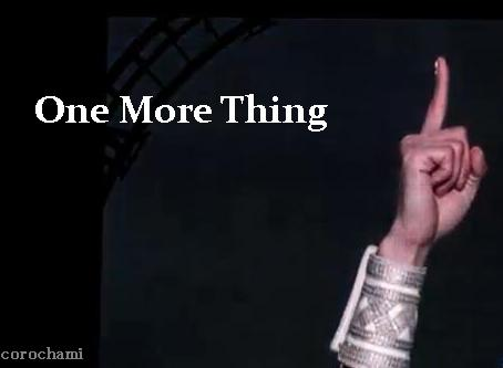 One More Thingちゃみ7