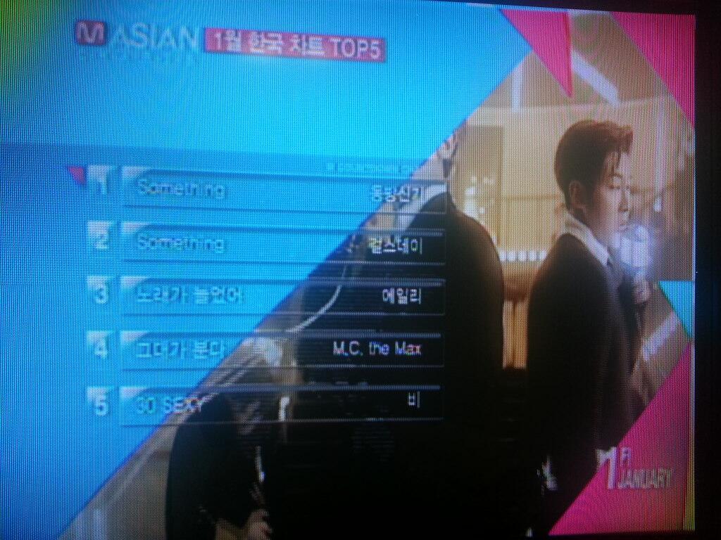 Mnet Mカウントダウン 1月の月間チャート1位!