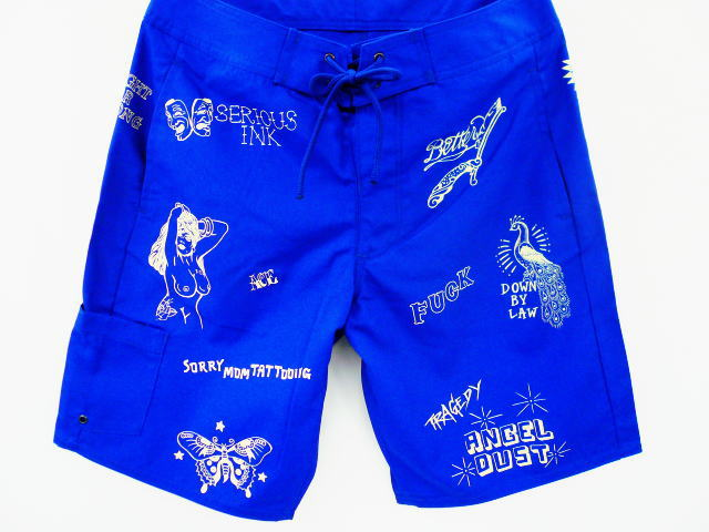 SOFTMACHINE JAIL WALL BOARD SHORTS