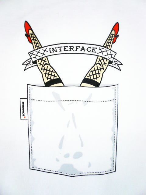 INTERFACE FAKE POCKET TEE