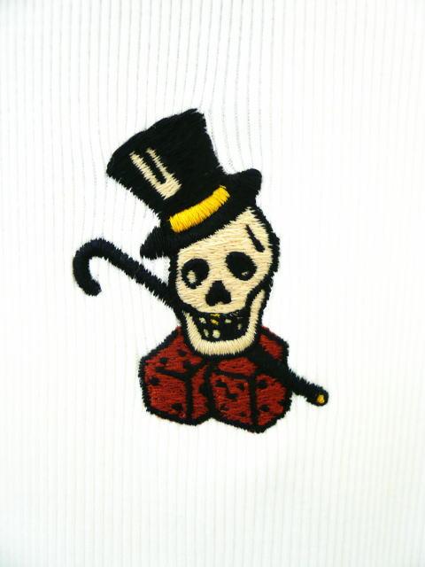 GANGSTERVILLE SKULL GAMBLER