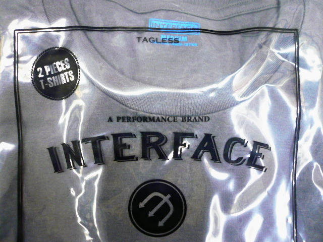 INTERFACE CREW NECK 2PACK TEE